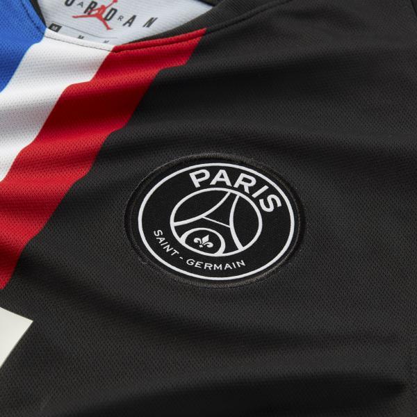 Nike Maglia Gara Fourth Paris Saint Germain  Jordan 19/20 Nero Tifoshop