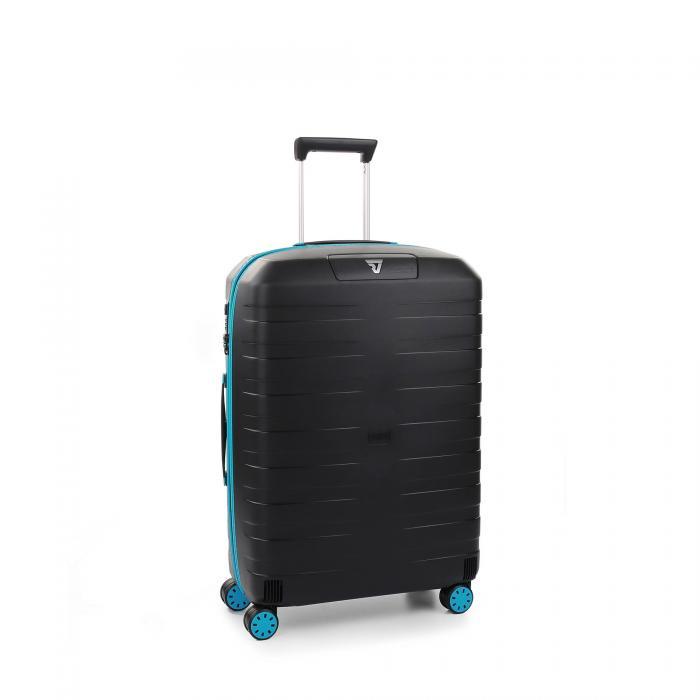 Mittelgrosse Koffer  LIGHT BLUE/BLACK