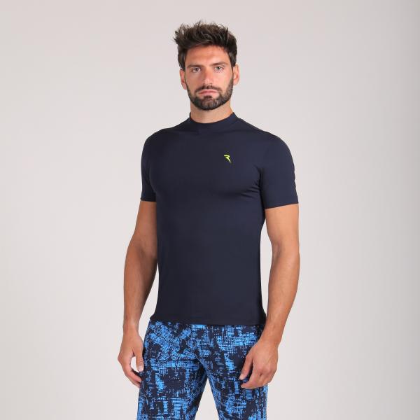 T-shirt Uomo Lugano 64526 Blu Chervò