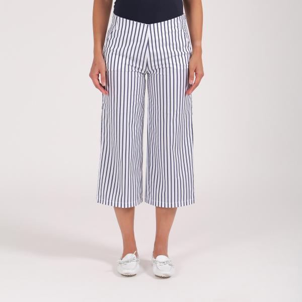 Pantalone Donna Skiros 64360 Bianco Blu Chervò