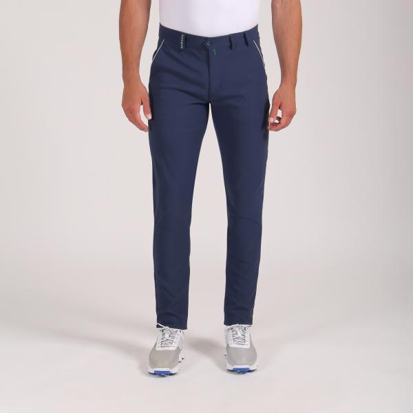 Pantalone Uomo Sostraco 64349 Blu Chervò