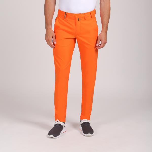 Pantalone Uomo Spelly 64352 Arancione Follia Chervò