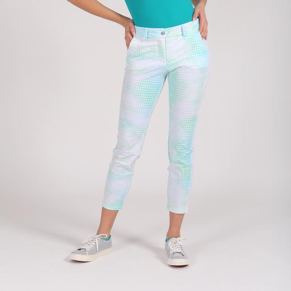 Pantalone Donna Supremo 64361 Verde Chervò