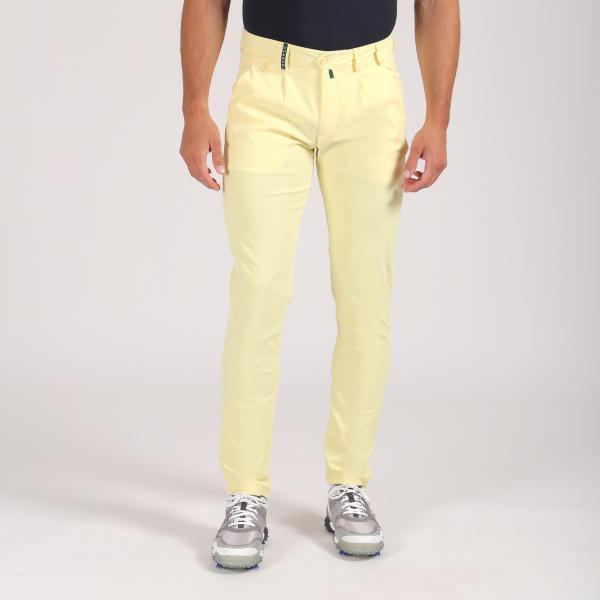 Pantalone Uomo Sveglia 64348 Giallo Canary Chervò