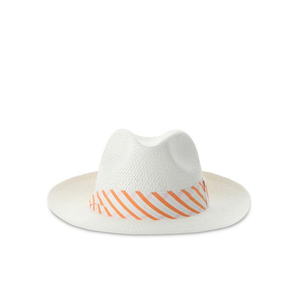 Cappello  Wistoso 64412 Arancione Bianco Chervò