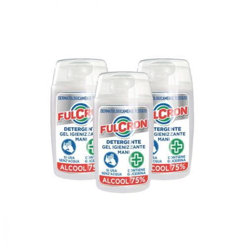 Fulcron detergente gel igienizzante mani 3x2