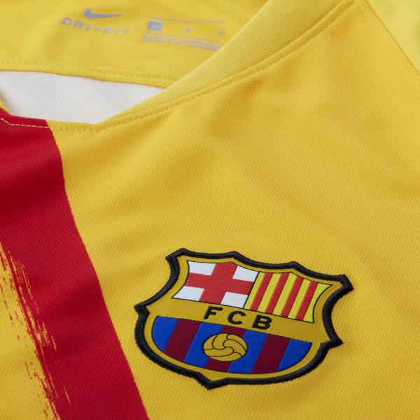 Nike Maglia Gara Fourth Barcellona   20/21 Giallo Tifoshop