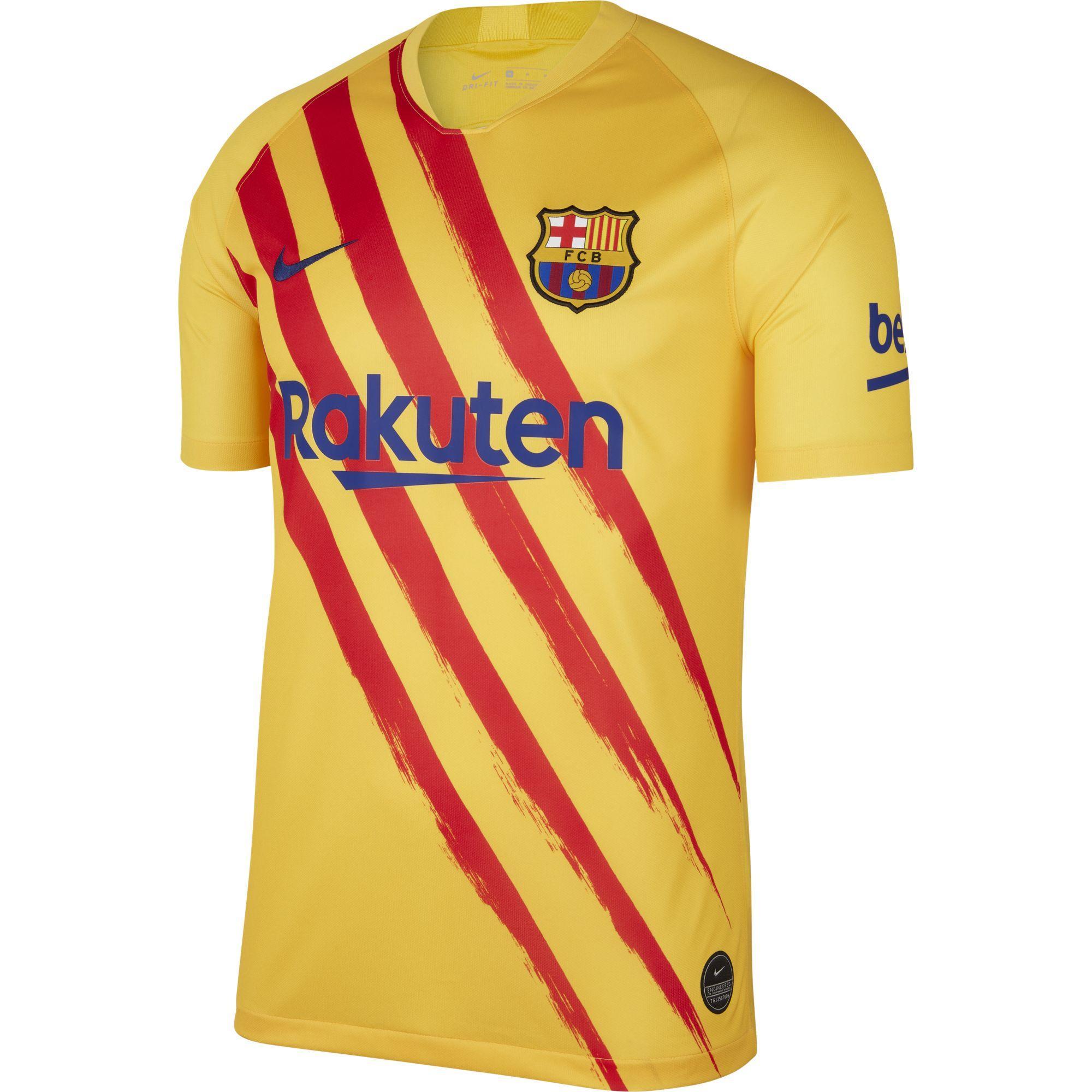 Nike Maglia Gara Fourth Barcellona   20/21