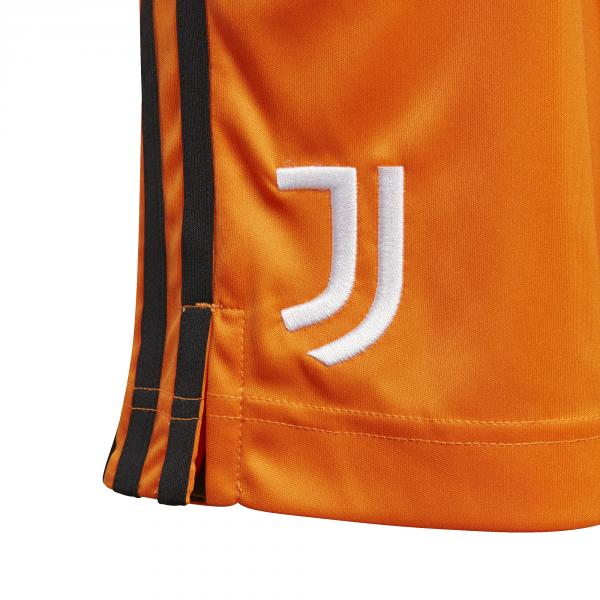 Adidas Pantaloncini Gara Terza Juventus Junior  20/21 Arancione Tifoshop