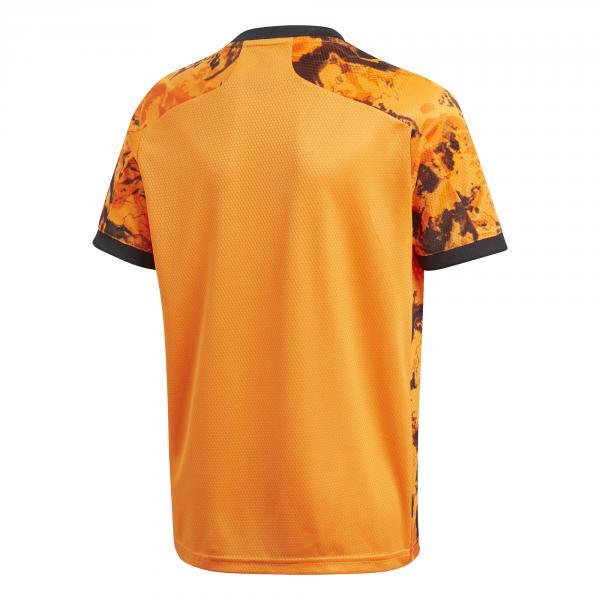 Adidas Maglia Gara Terza Juventus Junior  20/21 Arancione Tifoshop