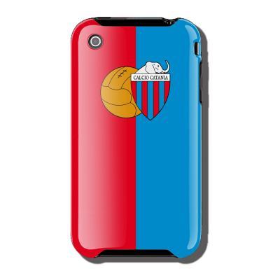 Ubikui Cover Iphone 3  Catania Unisex ROSSO/BLU