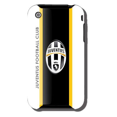 Ubikui Cover Iphone 3  Juventus Unisex WHITE/BLACK