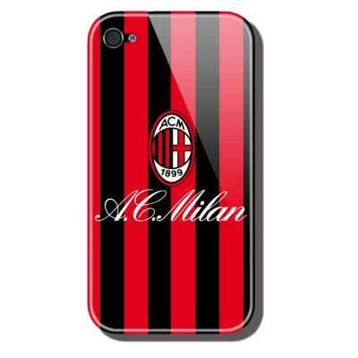 Ubikui Cover Iphone 4  Milan Unisexmode RED/BLACK