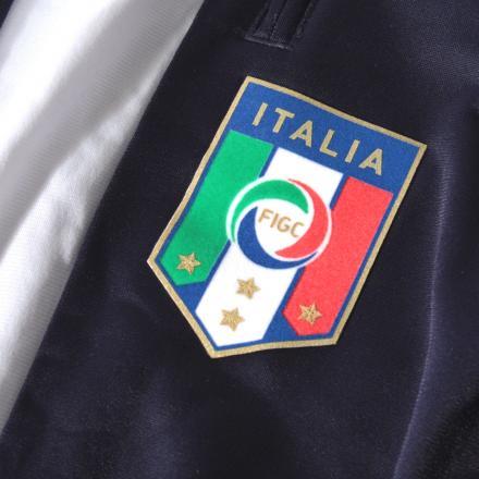 Puma Pantalone  Italia Junior Blu Navy Tifoshop