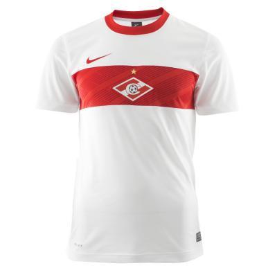 Nike Maillot De Match  Spartak Mosca   11/12 WHITE