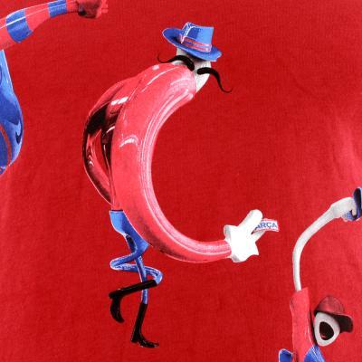 Nike T-shirt Manche Courte Barcelona TEAM RED/STORMBLUE Tifoshop