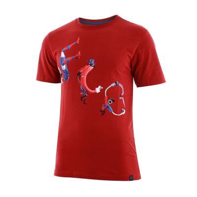 Nike T-shirt Manche Courte Barcelona TEAM RED/STORMBLUE