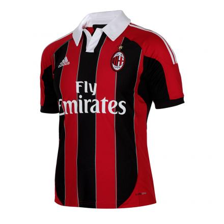 Adidas Maillot De Match Home Milan Enfant  12/13 RED / BLACK