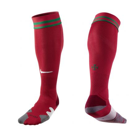 Nike Chaussettes De Course Home & Away Portugal   12/13 RED