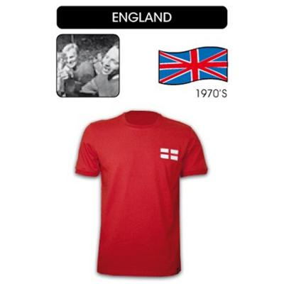 Copa Vintage Jersey  England Soccer RED