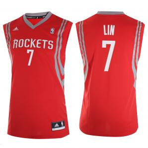 Adidas Canotta Replica Houston Rockets  JEREMY LIN 13/14