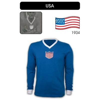 Copa Maillot Vintage  Usa BLUE