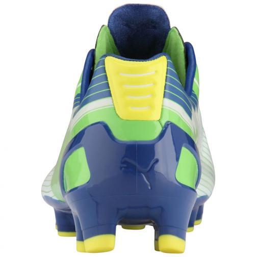 Puma Scarpe Calcio Evospeed 1 Fg verde blu e grigio Tifoshop