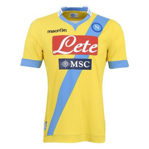 Macron Shirt Drittel Naples   13/14 YELLOW
