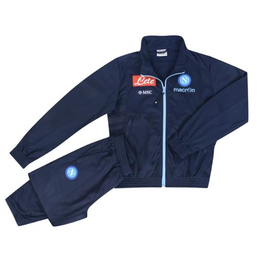 Macron Trainingsanzug Präsentation Naples Juniormode BLUE LIGHT BLUE
