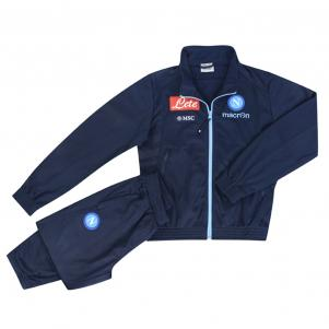 Macron Tracksuit Presentation Naples Junior