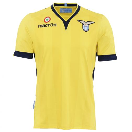 Macron Shirt Away Lazio   13/14 YELLOW