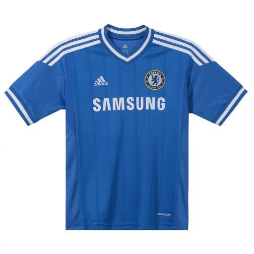 Adidas Maglia Gara Home Chelsea Junior  13/14 Reflex Blu