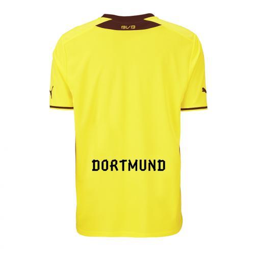 Puma Maillot De Match Home Borussia Dortmund   13/14 Yellow Tifoshop