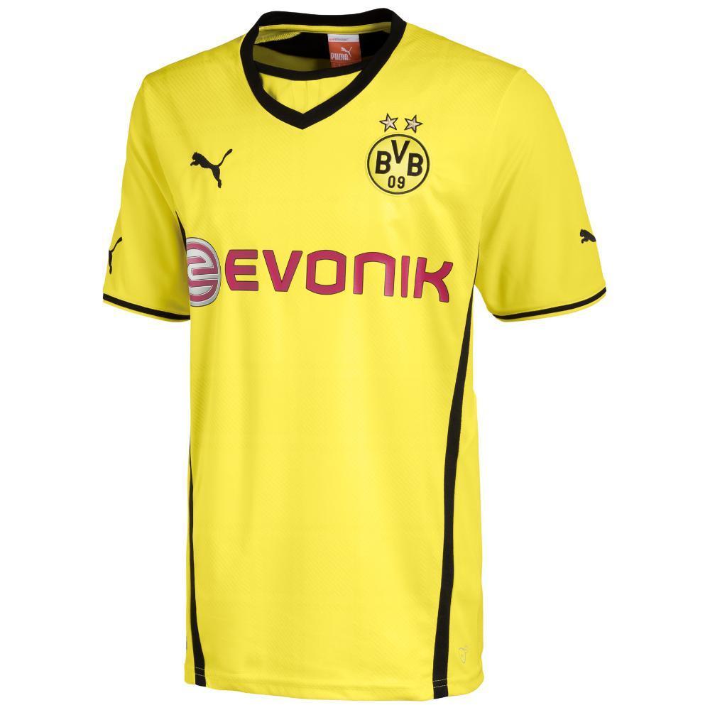 Puma Maillot De Match Home Borussia Dortmund   13/14