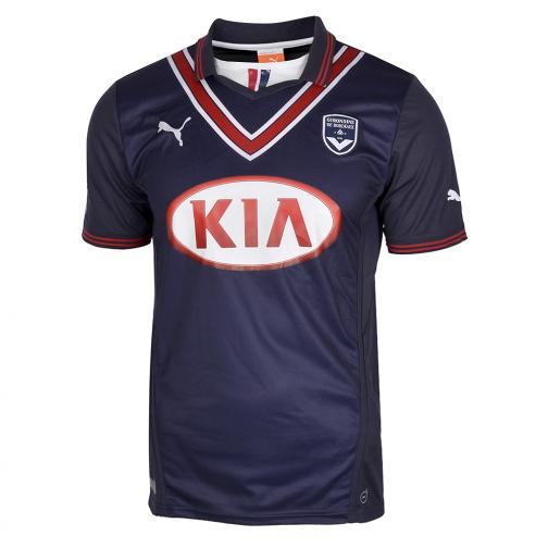 Puma Jersey Home Bordeaux   13/14 Blue