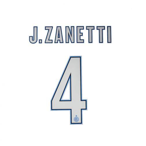 Stilscreen Name Und Offizielle Nummer  Inter   13/14 SILVER