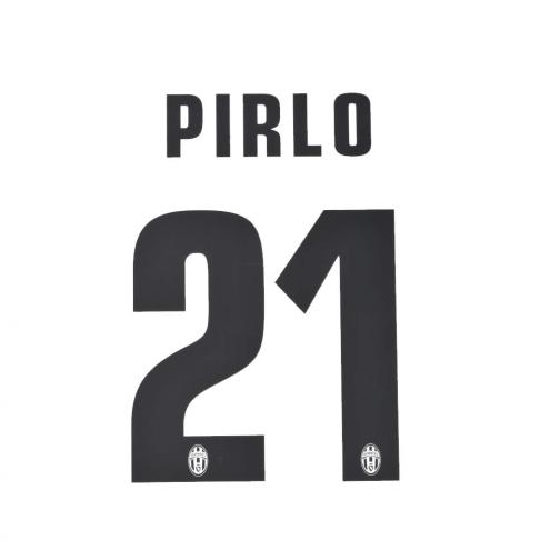Stilscreen Official Number And Name  Juventus   13/14 BLACK
