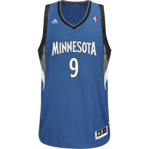 Adidas Canotta Swingman Minnesota Timberwolves  Ricky Rubio 13/14 Royal Tifoshop