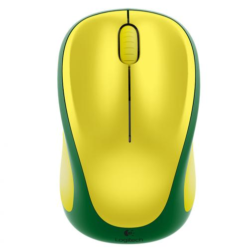 Logitech Mouse Wireless Mouse M235 Brasil Unisex Green Yellow