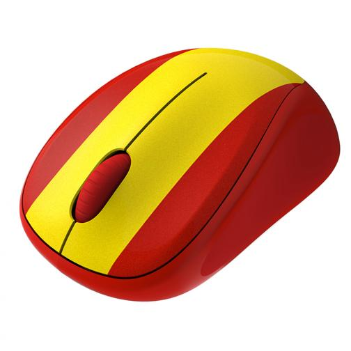 Logitech Mouse Wireless Mouse M235 Spain Unisexmode Red Yellow Tifoshop