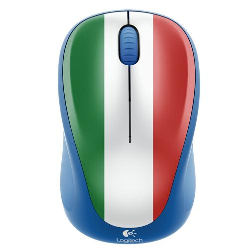 Logitech Mouse Wireless Mouse M235 Italia Unisex Azzurro