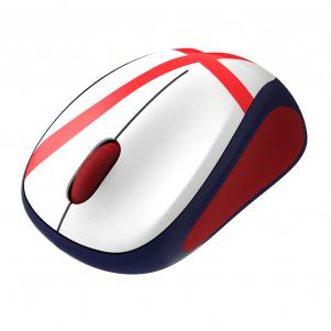 Logitech Mouse Wireless Mouse M235 England Soccer Unisexmode