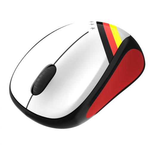 Logitech Mouse Wireless Mouse M235 Germany Unisex White Black Red Tifoshop