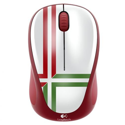 Logitech Mouse Wireless Mouse M235 Portugal Unisex Red Green