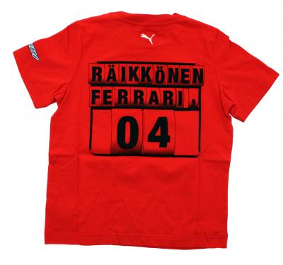 Puma T-shirt  Ferrari Junior Kimi Raikkonen RED