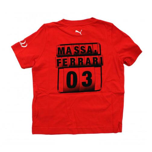 Puma T-shirt  Ferrari Junior Felipe Massa RED