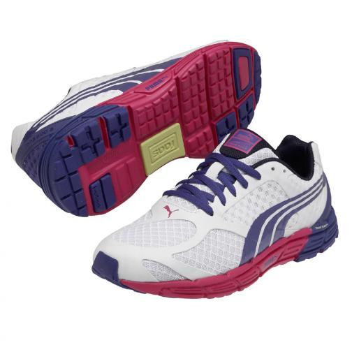 Puma Chaussures Faas 500 S Wn's  Femmes white-spectrum blue-beetroot purple