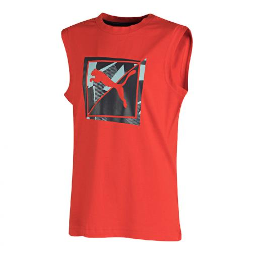 Puma Unterhemd Td Sl Tee  Juniormode high risk red