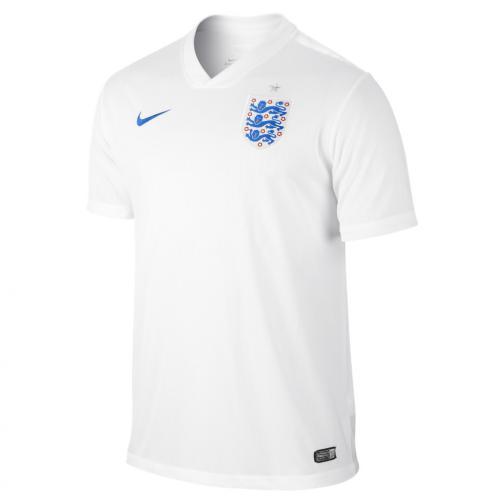 Nike Maglia Gara Home Inghilterra   14/16 BIANCO