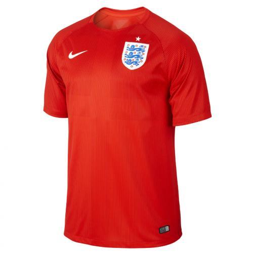Nike Maglia Gara Away Inghilterra   14/16 Rosso
